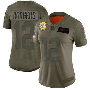 Women Green Bay Packers Aaron Rodgers Jersey